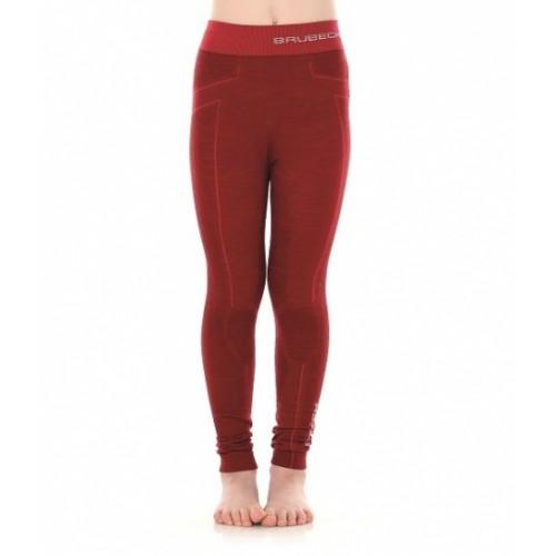 Кальсоны для девочки Brubeck Active Wool бордовый