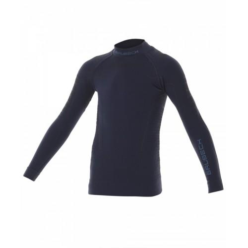Блуза подростковая для мальчиков Brubeck Thermo Nilit Heat синий