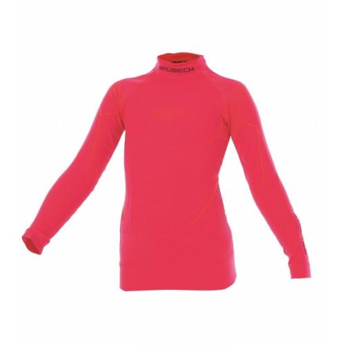 Блуза подростковая для девочек Brubeck Thermo Nilit Heat малиновый