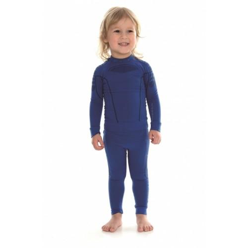 Блуза с длинным рукавом для мальчика Brubeck Thermo Nilit Heat синий