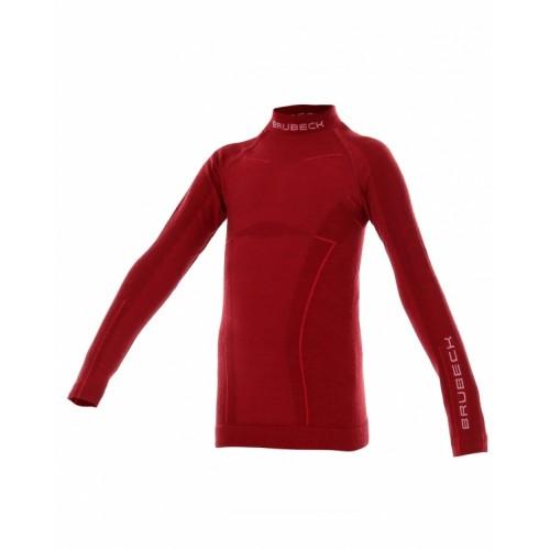 Блуза на девочку Brubeck Active Wool бордовый