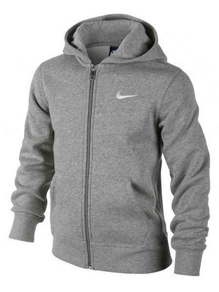 Толстовка Nike 76 Brushed Fleece Full-zip Hoody (детская), серый