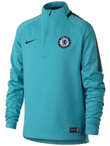 Толстовка Nike Dry Chelsea FC Squad Drill Top (детская), бирюзовый