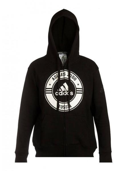 Толстовка Adidas Jacket Judo Russia, черный