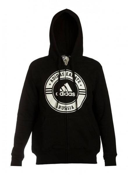 Толстовка Adidas Jacket Karate Russia, черный