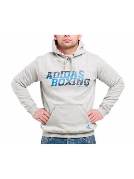 Толстовка Adidas Graphic Hoody Boxing, серый
