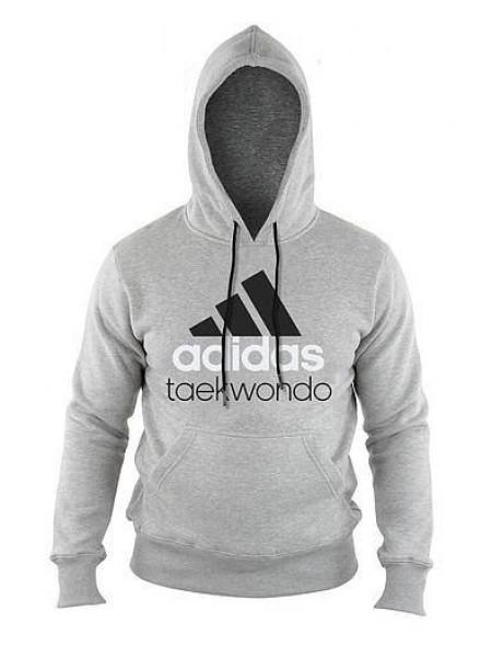 Толстовка Adidas Community Hoody Taekwondo, серый