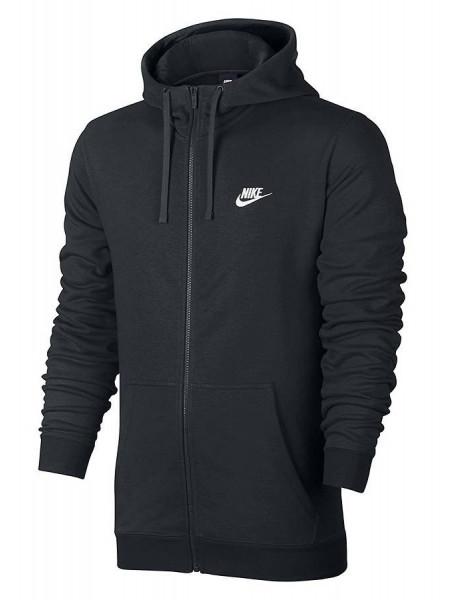 Толстовка Nike Full Zip Sportswear Hoodie, черный