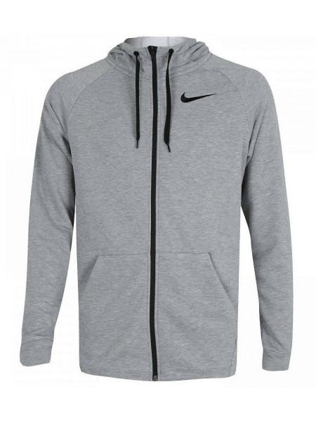Толстовка Nike Dry Hoodie FZ Fleece, серый