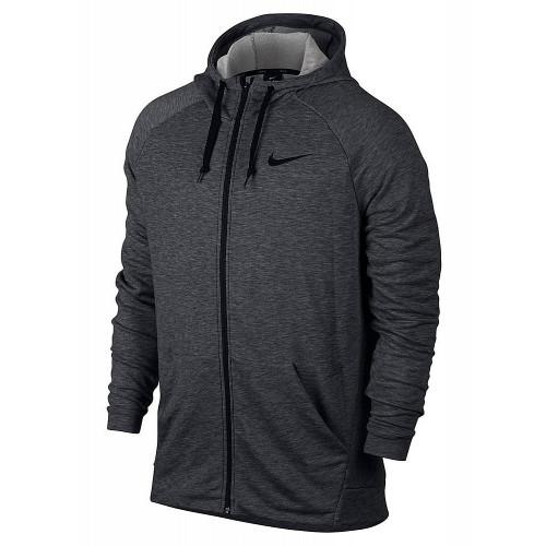 Толстовка Nike Dry Hoodie FZ Fleece, темно-серый