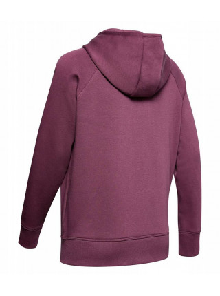 Толстовка Under Armour Rival Fleece Sportstyle Lc Sleeve Graphic (женская), бордовый