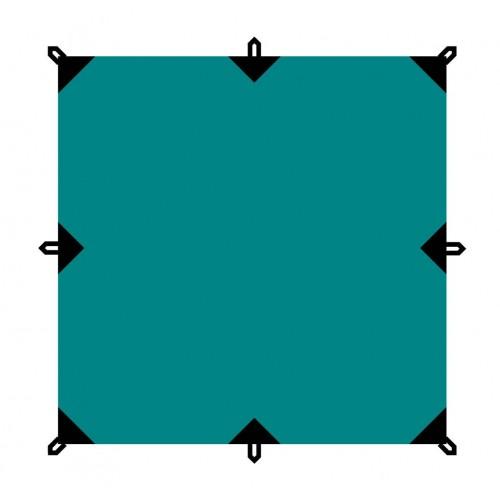 Тент 6х6 BTrace Т0362 зеленый