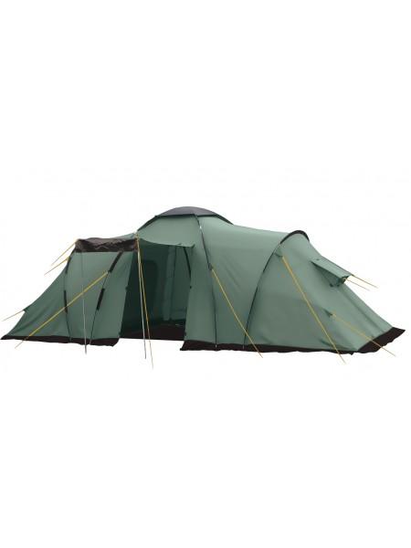 Палатка кемпинговая BTrace Ruswell 4 T0263 зеленый