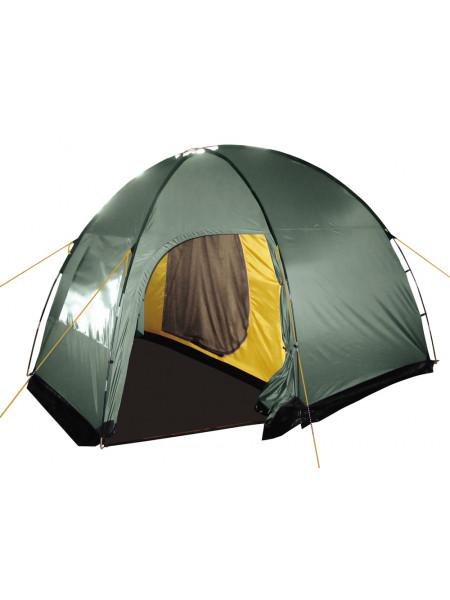 Палатка кемпинговая BTrace Dome 4 T0300 зеленый
