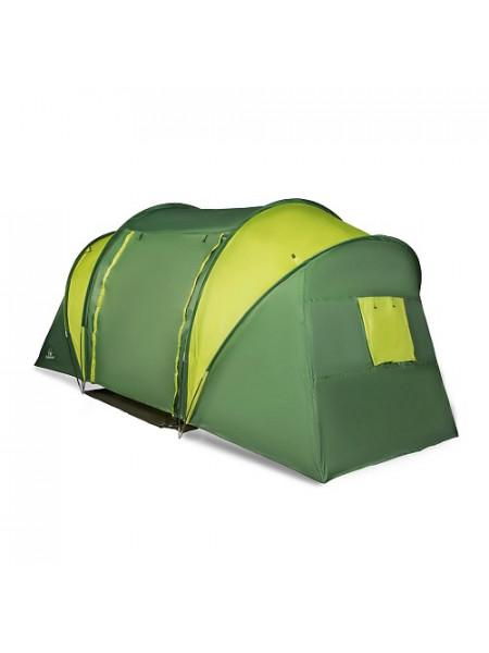 Палатка 4-х местная Greenwood Halt 4 зеленый/лайм (214)