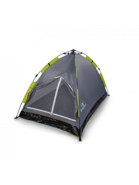 Палатка 2-х местная Greenwood Mat-192-2 серый/зеленый быстросборная