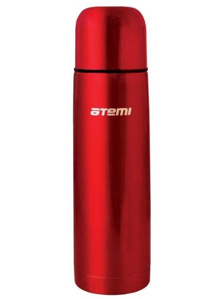 Термос, 1 л, красный, ATEMI HB-1000 red