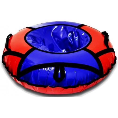 Тюбинг Вихрь d-100 см красно-синий