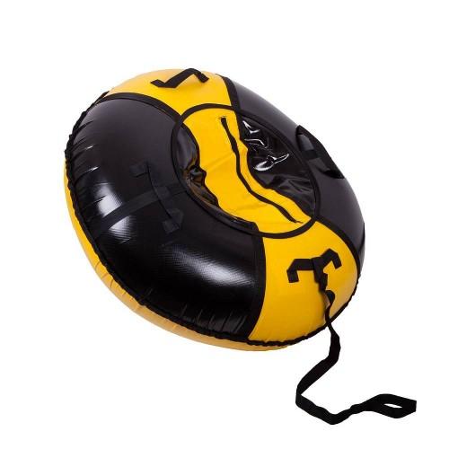Тюбинг Вихрь d-70 см желто-черный