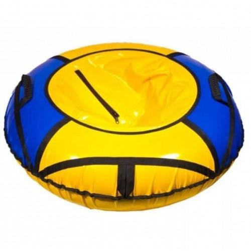 Тюбинг Вихрь d-70 см желто-синий
