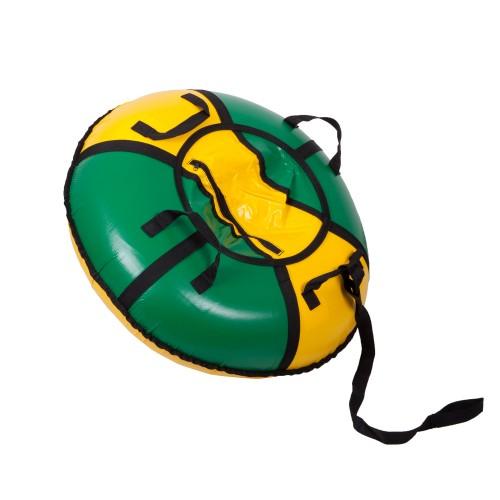 Тюбинг Вихрь d-70 см желто-зеленый
