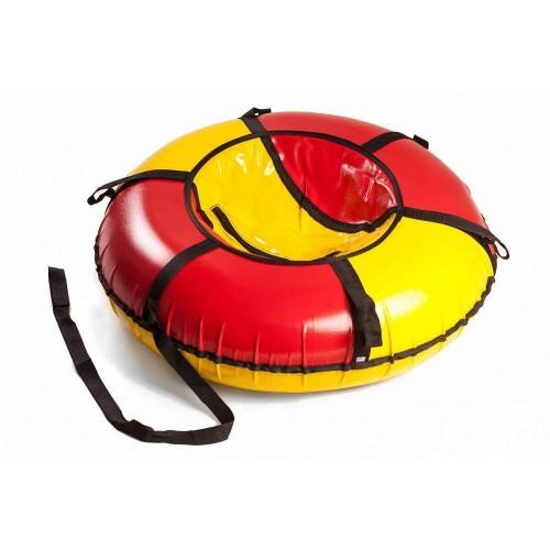 Тюбинг Вихрь d-90 см желто-красный