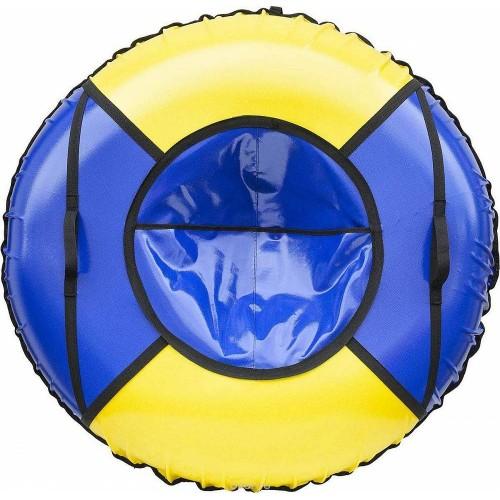 Тюбинг Вихрь d-90 см желто-синий