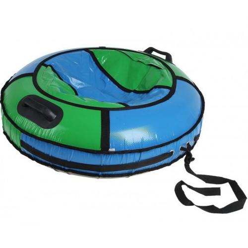 Тюбинг Комфорт d-80 см зелено-голубой