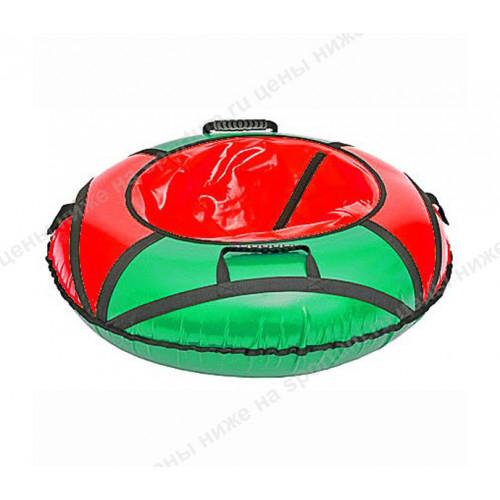 Тюбинг Комфорт d-80 см зеленый-красный