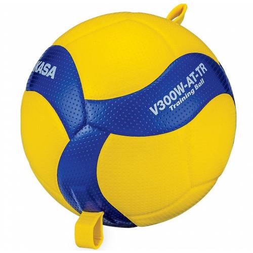Мяч волейбольный на растяжках Mikasa V300W-AT-TR