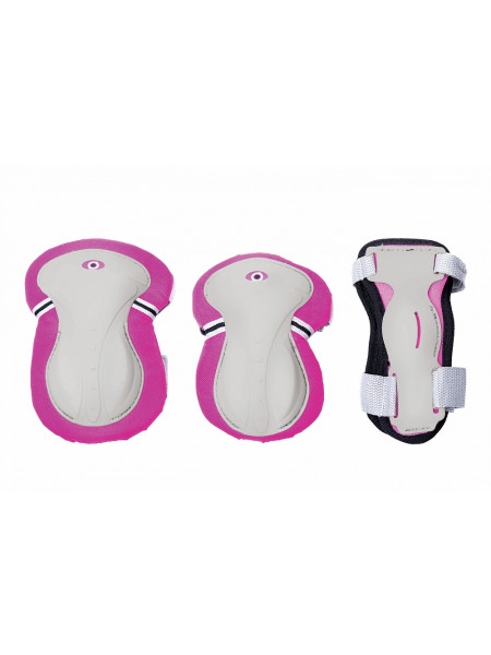 Набор защиты Globber Protective Junior Set розовый