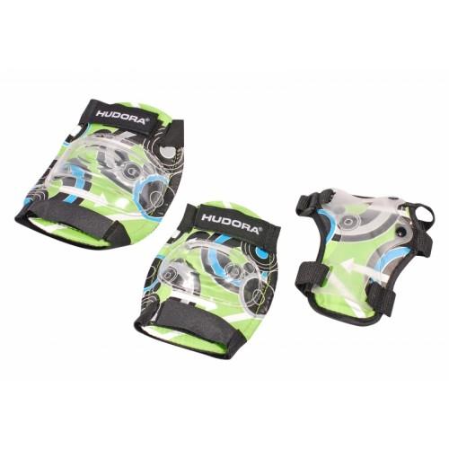 Комплект защиты HUDORA Green Style, зеленый