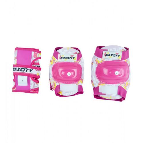 Защита детская MaxCity Teddy розовый
