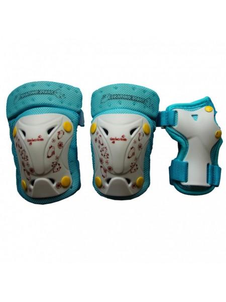 Комплект защиты EXPLORE PROTECTOR голубой