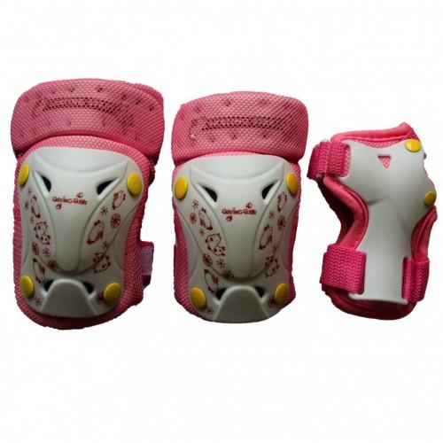 Комплект защиты EXPLORE PROTECTOR розовый