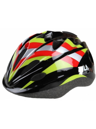 Шлем защитный Fila Junior Helmet черный/красный