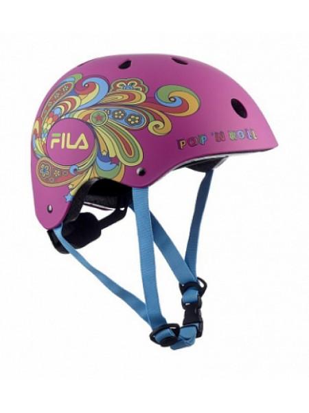 Шлем защитный Fila Bella Helmet розовый