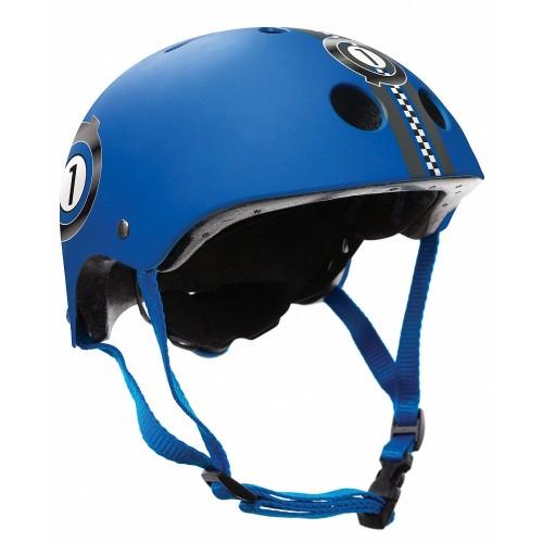 Защитный шлем GLOBBER PRINTED JUNIOR синий