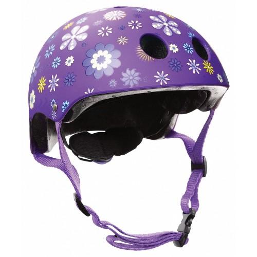 Защитный шлем GLOBBER PRINTED JUNIOR фиолетовый