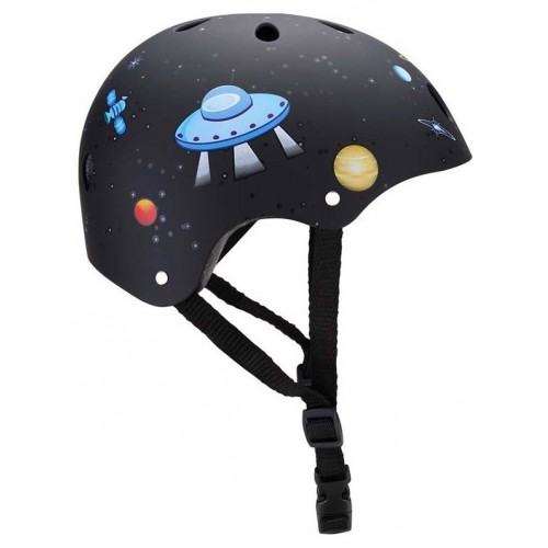 Защитный шлем GLOBBER PRINTED JUNIOR черный