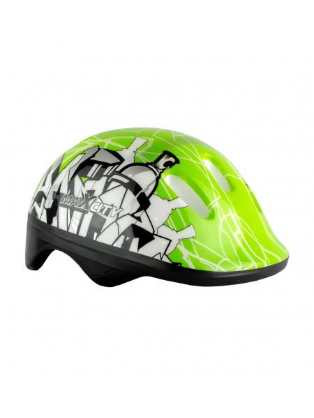 Шлем детский MaxCity Baby City зеленый