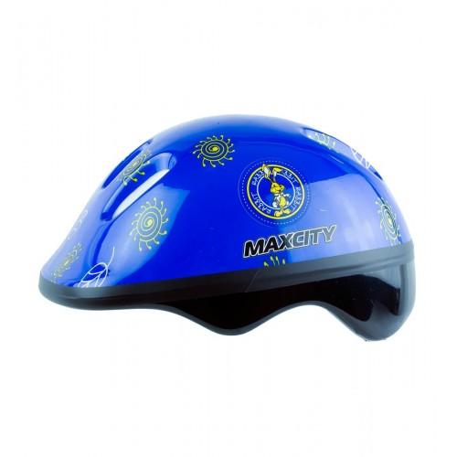 Шлем детский MaxCity Baby Little Rabbit синий