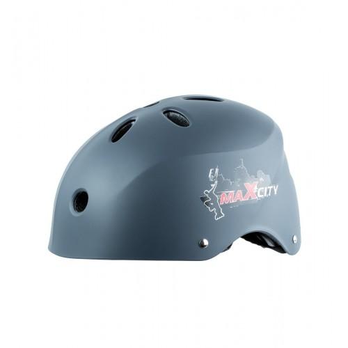Шлем MaxCity Cool серый