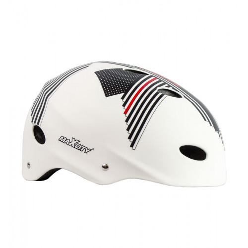 Шлем MaxCity Sport Elite белый