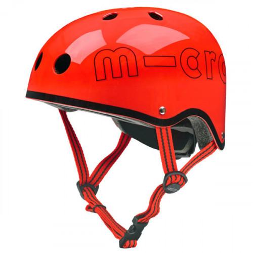 Защитный шлем Micro глянцевый красный