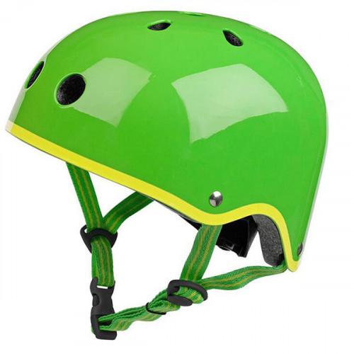 Защитный шлем Micro глянцевый зеленый