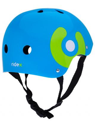 Шлем защитный Ridex Zippy, голубой