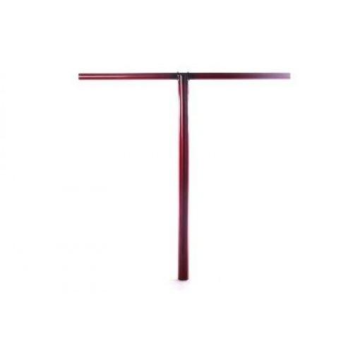 Руль для самоката ANALOG Genesis S Bar 650x650mm - red/transparent