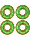 Подшипник для самоката URBANARTT Bearings Std8 - 4 Bearings And 2 Spacers - green gold