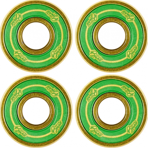 Подшипник для самоката URBANARTT Bearings Std8 - 4 Bearings And 2 Spacers - green gold